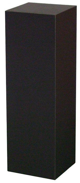 "Xylem Black Laminate Pedestal: 18"" x 18"" Base"