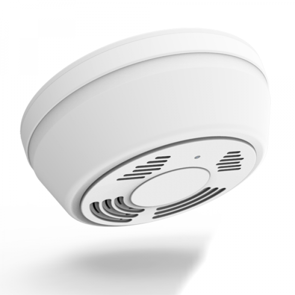 Fuma - Hd Wifi Nanny Cam Dummy Smoke Detector With Ir Night Vision And 6 Months Battery Life